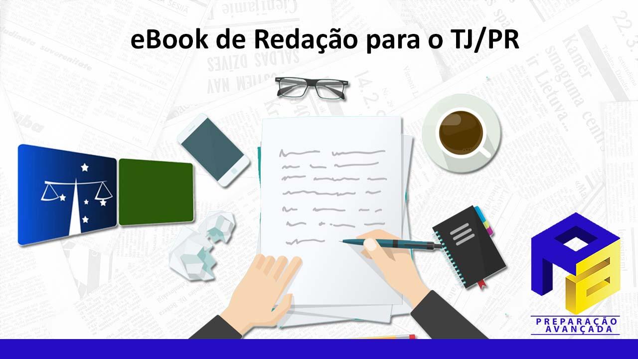 eBook de redação para o TJ/PR