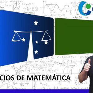 Exercícios de Matemática - TJPR - CESPE