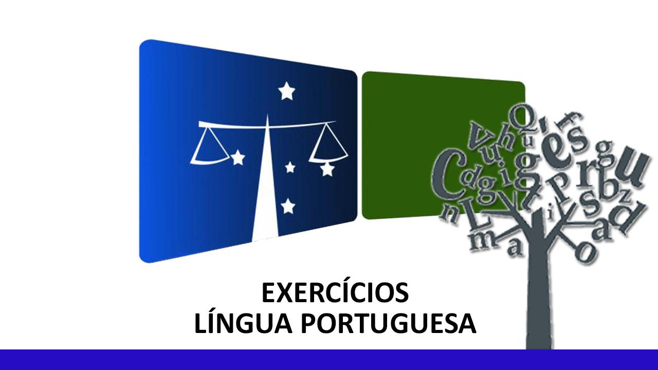 Exercícios Língua Portuguesa