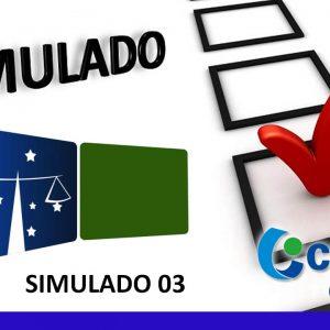 Simulado TJ/PR