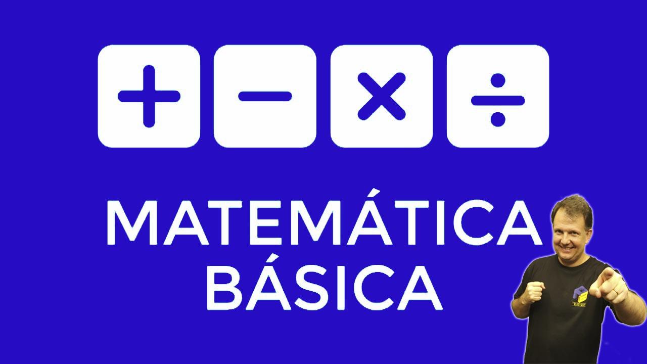 matematica basica - nivelamento matematico